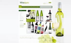 Kosher Champagne Website Template 30894 Wine Store Production Custom Website
