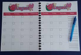 desk planner template printable teacher planner scholastic august calendar for teacher planner