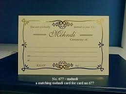 mehndi invitation cards mehndi invitation cards in pragati indl est lower parel mumbai
