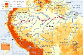 Physical Map South America by New Map Plots North Americas Bounty Of Rivers Wired American