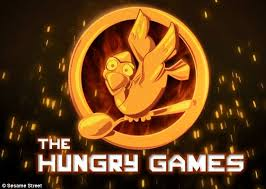 hunger games theme song hilarious sesame street hunger games parody sees cookie monster