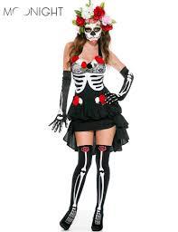 online get cheap halloween sugar skull costume aliexpress com