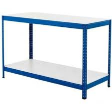 packing table with shelves packing benches for warehouse storerooms and stockrooms