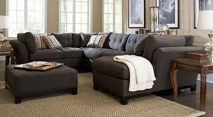 livingroom pc home metropolis slate 3 pc sectional lovely living