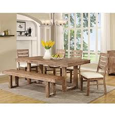 Dining Room Tables Set Dining Table Set Rustic Amazon Com