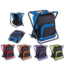 Back Pack Chair Vivo Cooler Bag U0026 Folding Chair All In One Bag Picnic Camping