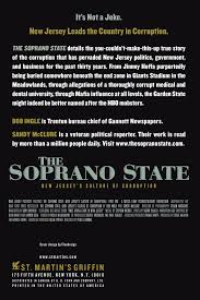 the soprano state new jersey u0027s culture of corruption bob ingle
