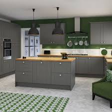 Grey Shaker Kitchen Cabinets Coffee Table Kitchens Kitchen Cabinets Units And Ideas