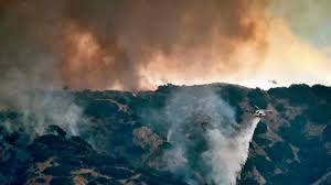 Wildfire La Area by Fires Rage Through West California Governor Declares State Of