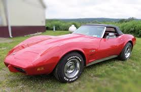 l48 corvette 1975 chevrolet corvette numbers matching l48 4speed convertible