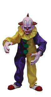 clown halloween masks scarabelle scary clown puppet in puppets and dolls