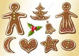 gingerbread cookies christmas cookies vector illustration