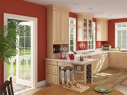 classic solid wood board island shape european style kitchen