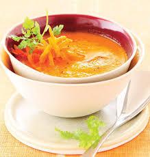 que cuisiner avec des carottes recette velouté de carottes au curcuma