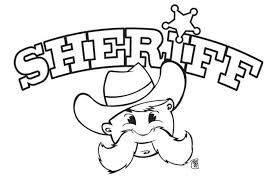 coloriages coloriage du sheriff fr hellokids com