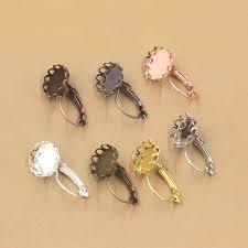 how to make clip on earrings clip on earrings diy best earring 2017