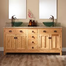 Vessel Sink Vanity Hardwood Vessel Sink Vanity Signature Hardware