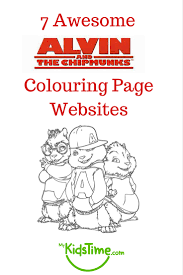 7 awesome alvin chipmunks colouring websites