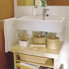 sink ideas for small bathroom 47 creative storage idea for a small bathroom organization