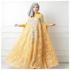 Baju Muslim Brokat model baju gamis brokat untuk semua bentuk tubuh bisnis