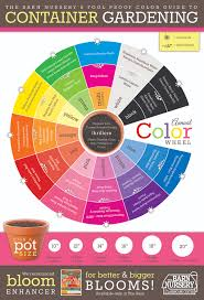 Pink Color Wheel by Design Beautiful Annual Containers With Our Foolproof Color Guide