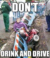 Drink Driving Memes - don t drink and drive drunk grandma quickmeme