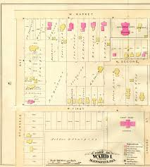 Mansfield Ohio Map by Mansfield Atlas 1882