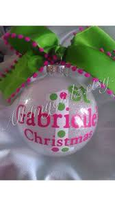 baby s ornament glass glitter with