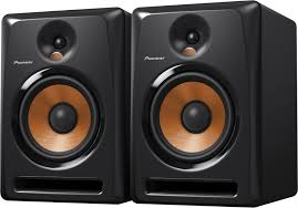 pioneer home theater systems pioneer bulit8 8 inch powered studio monitors pair pssl