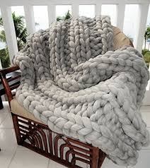 Cable Knit Rug Chunky Cable Knit Throw Blanket Easy Video Tutorial Throw Rugs