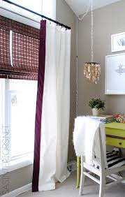 How To Sew A Curtain Ideas Curtain Makeover Curtains Ribbon Scarf How To Trim Curtains