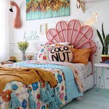 Modern Boho Kids Bedroom  Girls Room Cool Decor And - Childrens bedroom decor ideas