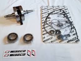 wiseco complete bottom end crankshaft for kawasaki kx250f suzuki