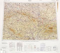 East Germany Map by International Map Of The World Western Europe