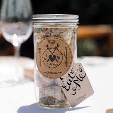 easy wedding favors easy ways to upgrade your jar wedding favors martha