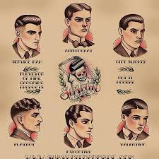 beer and haircuts from the 1920s gentle men s haircutting guide poster men s fashion