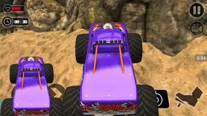 racing games kids monster truck racing mountain video