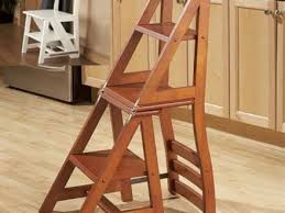 51 wooden kitchen step stool chair folding step stool folding