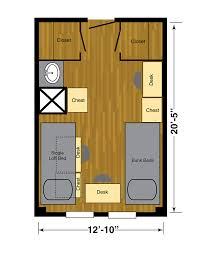 Texas Floor Plans by Texas Tech University University Student Housing
