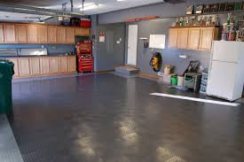 rubber flooring for garage flooring designs