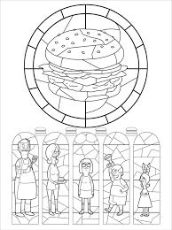 the u0027bob u0027s burgers u0027 coloring book lets you make the burger puns