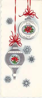 season ornament card season vintage retro