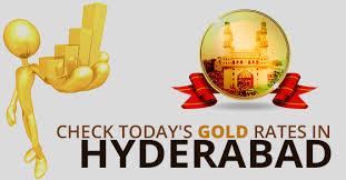 todays gold rate in hyderabad 22 24 carat gold price on 18th