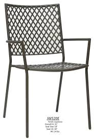 Metal Patio Chair Aluminum Chairs Jobolyn Table Base Company