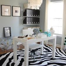 blue gray office design ideas
