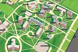 University Of Kentucky Campus Map Map Of Providence College Campus Afputra Com