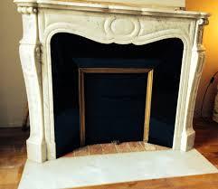 cheminee ethanol style ancien pose d u0027une cheminée pompadour avec intérieur émaillé noir u2013 le