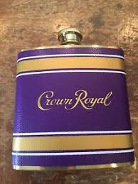 crown royal gift set new crown royal canadian whisky liquor flask for gift or
