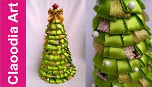 diy christmas tree ribbon youtube