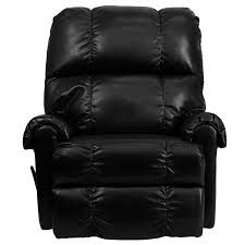 amazon com flash furniture contemporary apache black leather